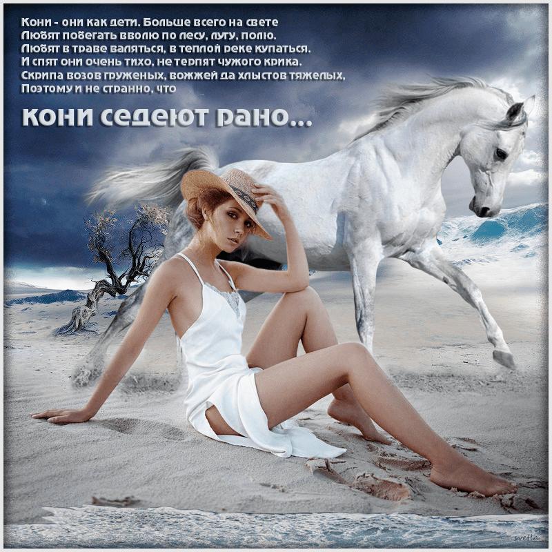 Мой конь по ритму сердца…