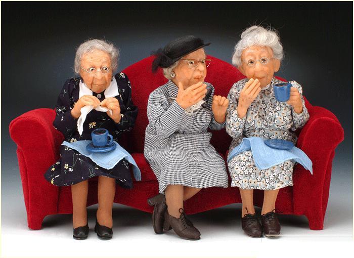 Три старушки...