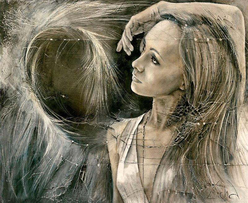 Жизнь имеет глубокий смысл.Художница Lidia Wylangowska