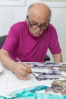 Али Акбар Садеги (Ali Akbar Sadeghi) – выдающийся, современный иранский художник.