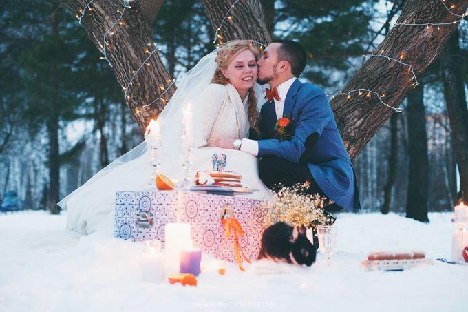 Волшебная сказка в снежной палитре «Свадьба зимой»
