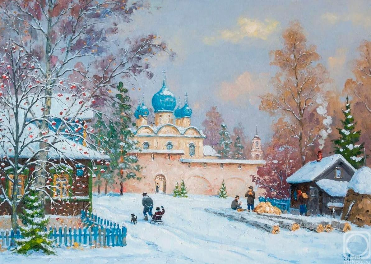 Александр Александровский и его зимние пейзажи