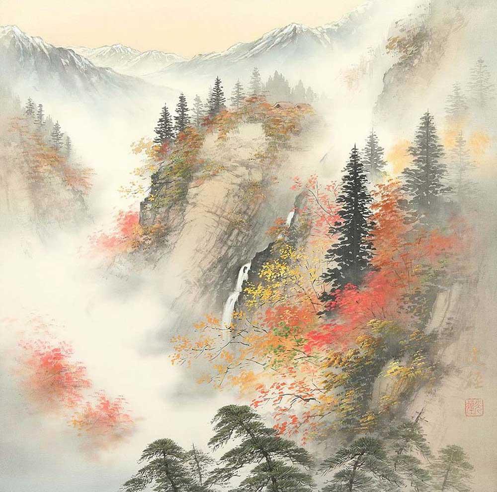 Коукей Коджима. Пейзажи Японии