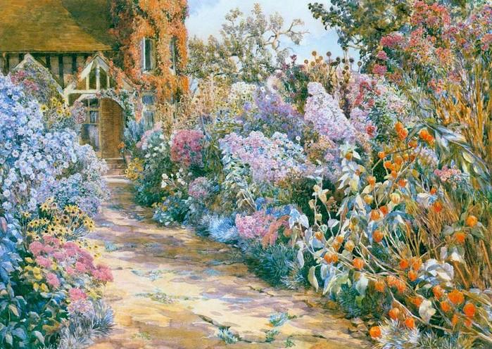 Цветущие сады Beatrice E. Parsons