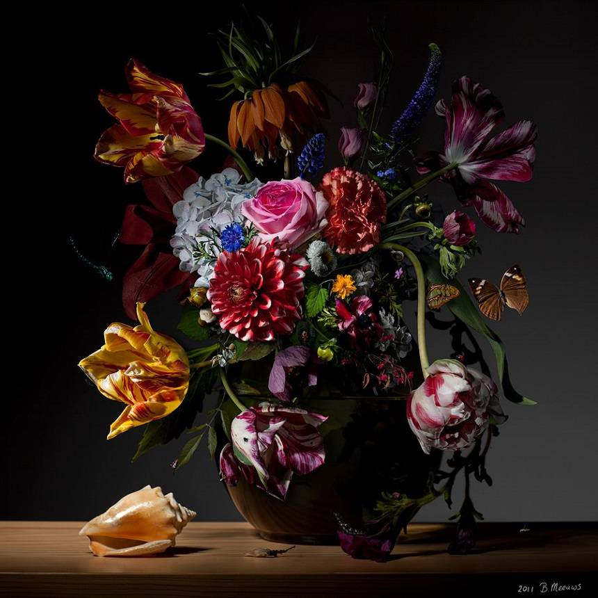 Потрясающие натюрморты от фотографа Bas Meeuws