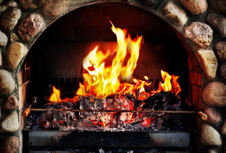 Посидим у огня