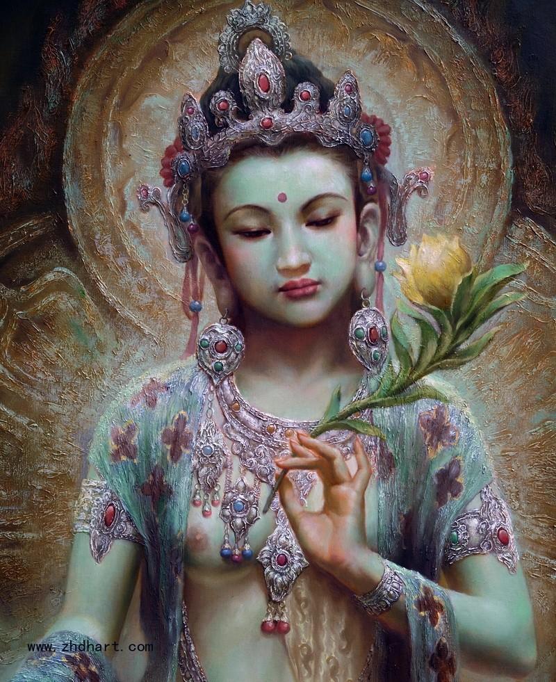 Цзэн Хао: посвящение Богине Дуньхуан