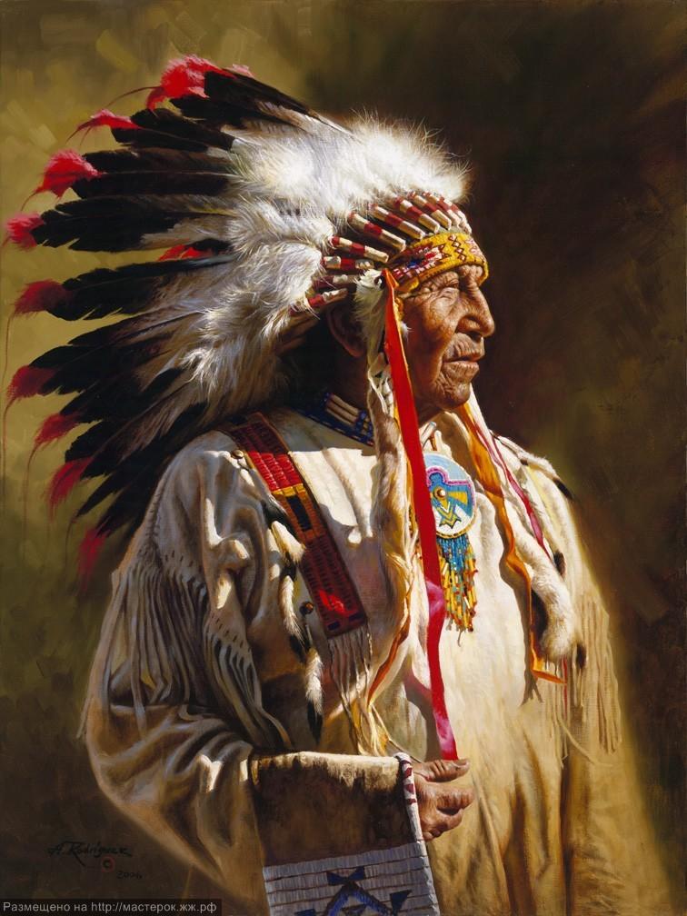 Alfredo Rodriguez, р. 1954, США + индейская мудрость